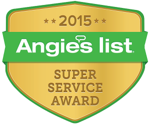 Meticulous Plumbing wins 2015 Angie's List Super Service Award