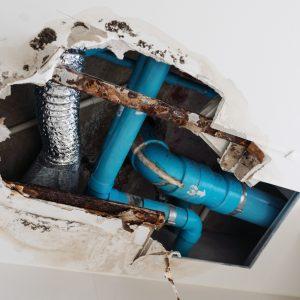 plumbing leak repair