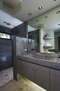 A bathroom remodel using universal design will be accessible to people of all ages and abilities.